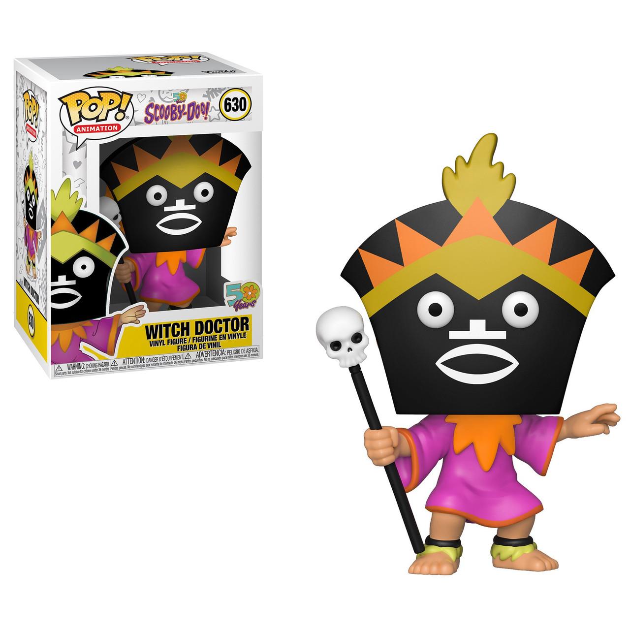 4d643bbfa3 Funko Scooby Doo Funko POP Animation Witch Doctor Vinyl Figure - ToyWiz
