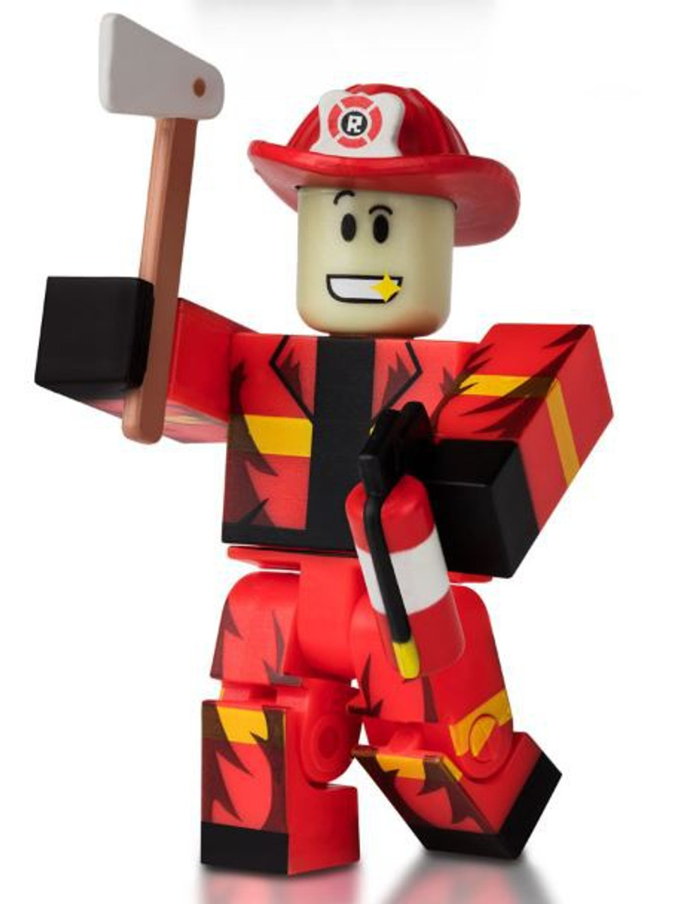 Roblox Westover Fire Dept Minifigure [No Code Loose]