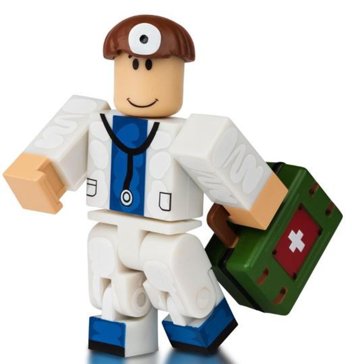 Roblox Hospital Rp Doctor 3 Minifigure No Code Loose Jazwares Toywiz