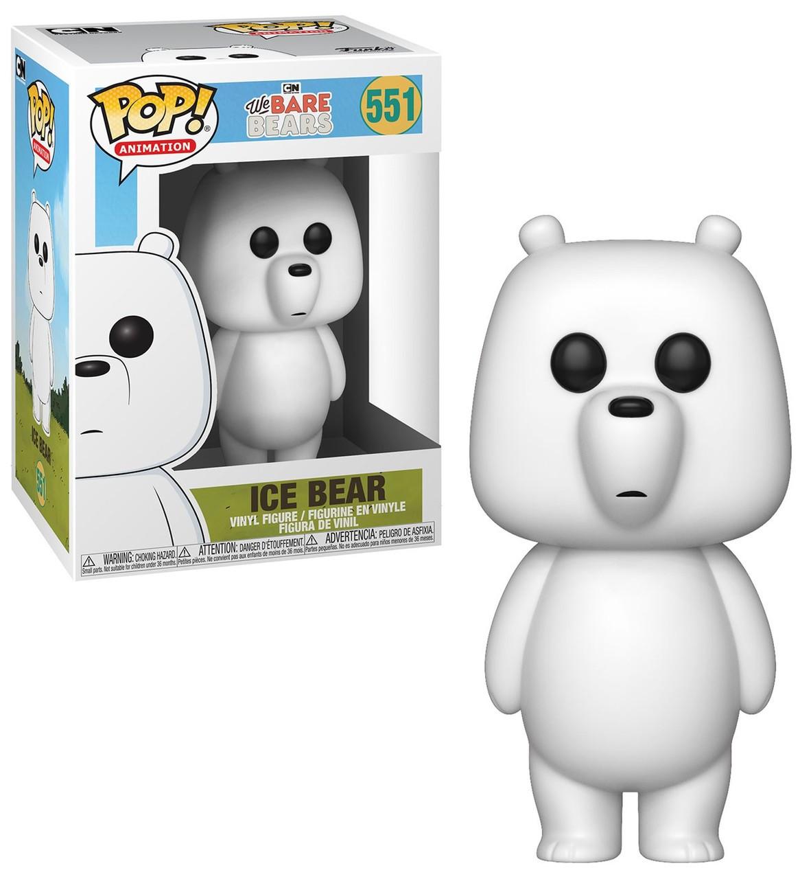 697a2b564a9f74 Funko We Bare Bears Funko POP Animation Ice Bear Vinyl Figure 551 - ToyWiz