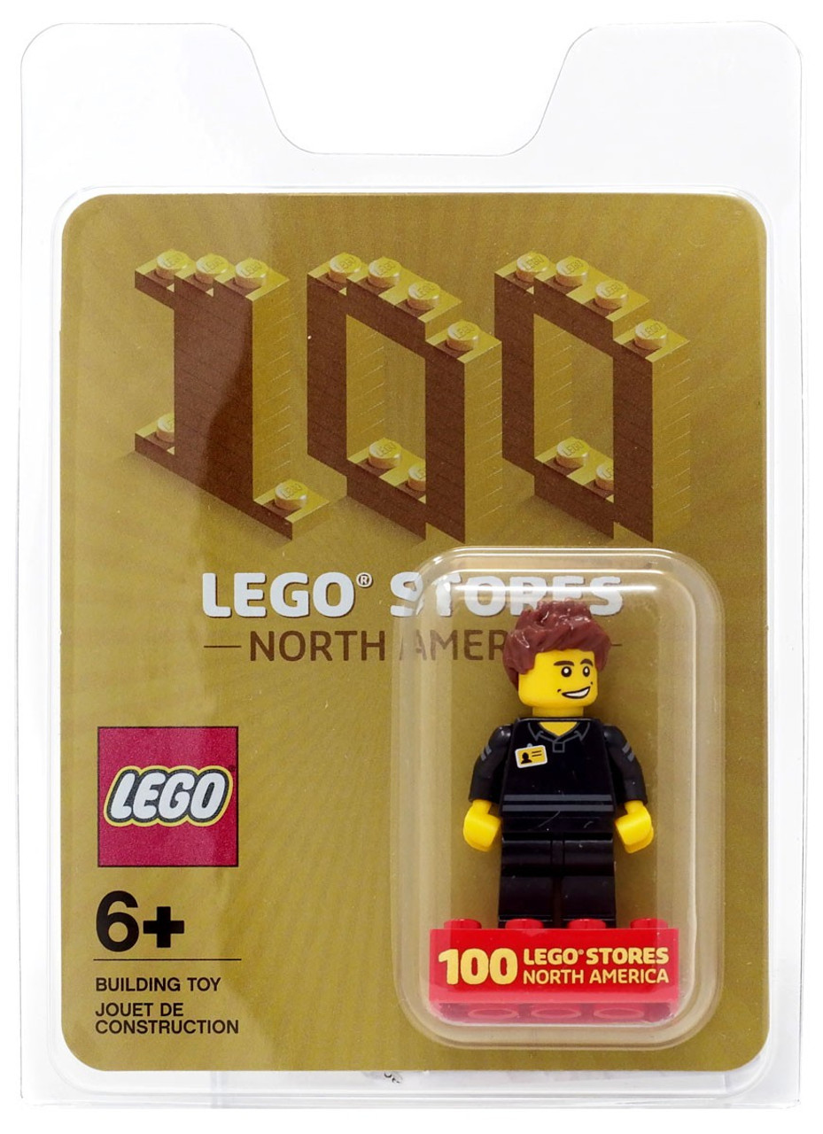 Toywiz Minifigure Exclusive America Stores Lego 100 North gbf76y