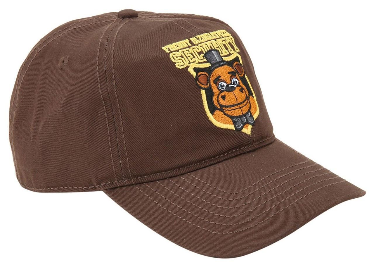 879e598ceee009 Five Nights at Freddys Freddy Fazbears Pizza Security Exclusive Snapback Cap  Bioworld - ToyWiz