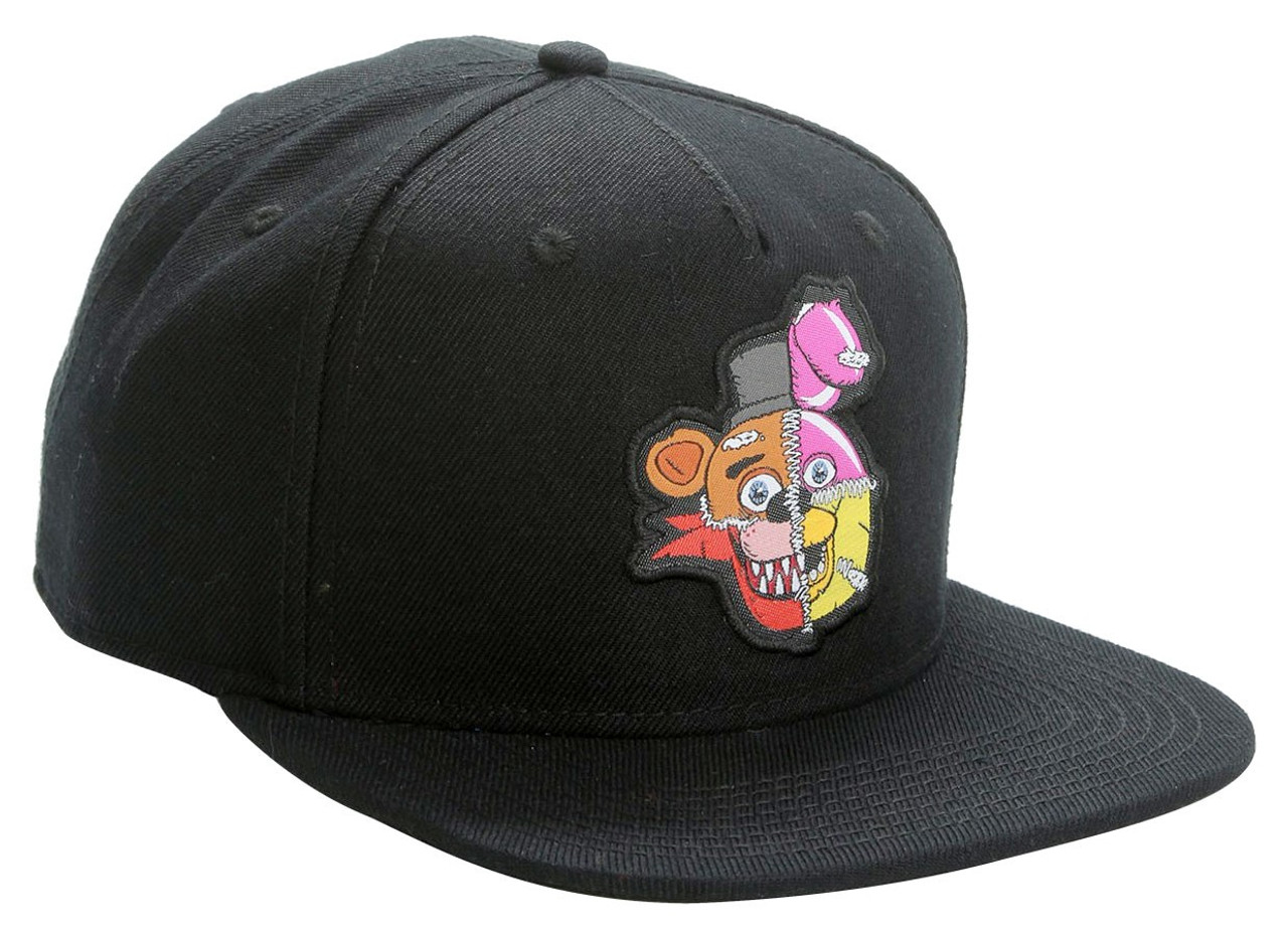 Five Nights at Freddys Stitched Characters Exclusive Snapback Cap Bioworld  - ToyWiz 2f787ebe734