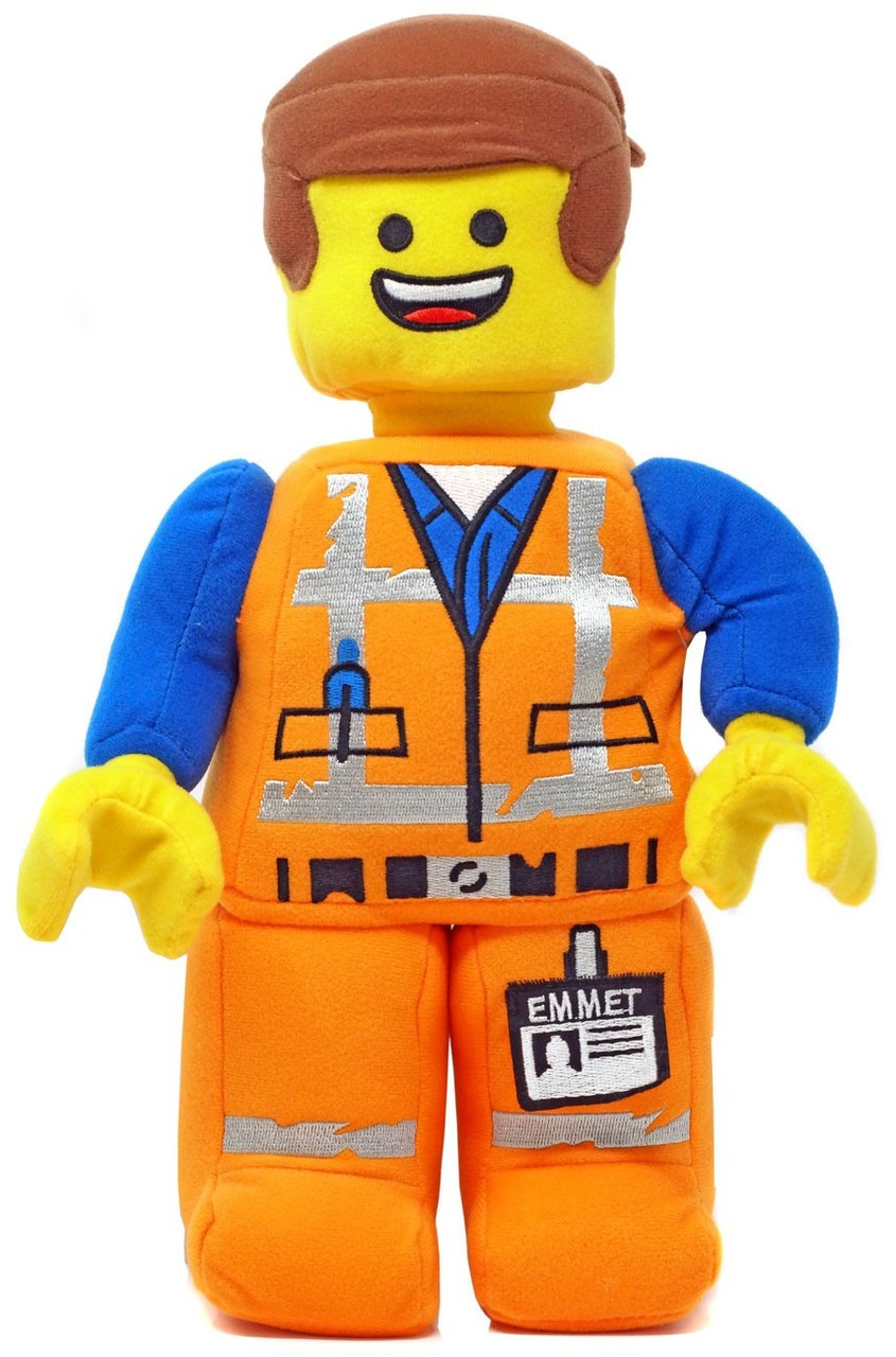 The LEGO Movie 2 Emmet 12 Plush - ToyWiz