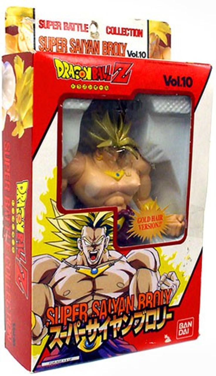 Roblox Ssj3 Hair Dragon Ball Z Super Saiyan Broly Action Figure Gold Hair Version Bandai Japan Toywiz
