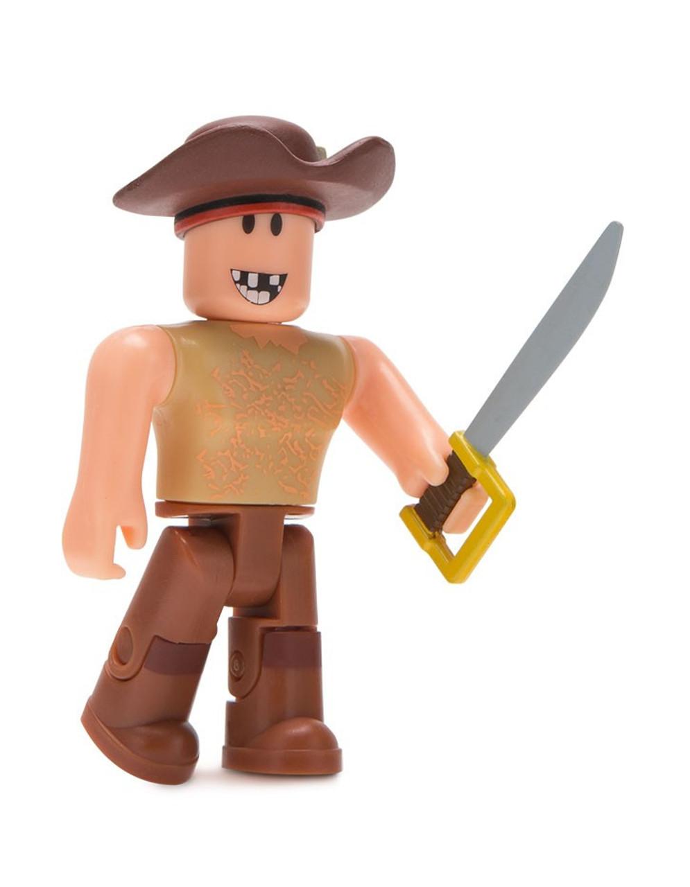 Roblox Buck Eye The Pirate 3 Mini Figure No Code Loose Jazwares