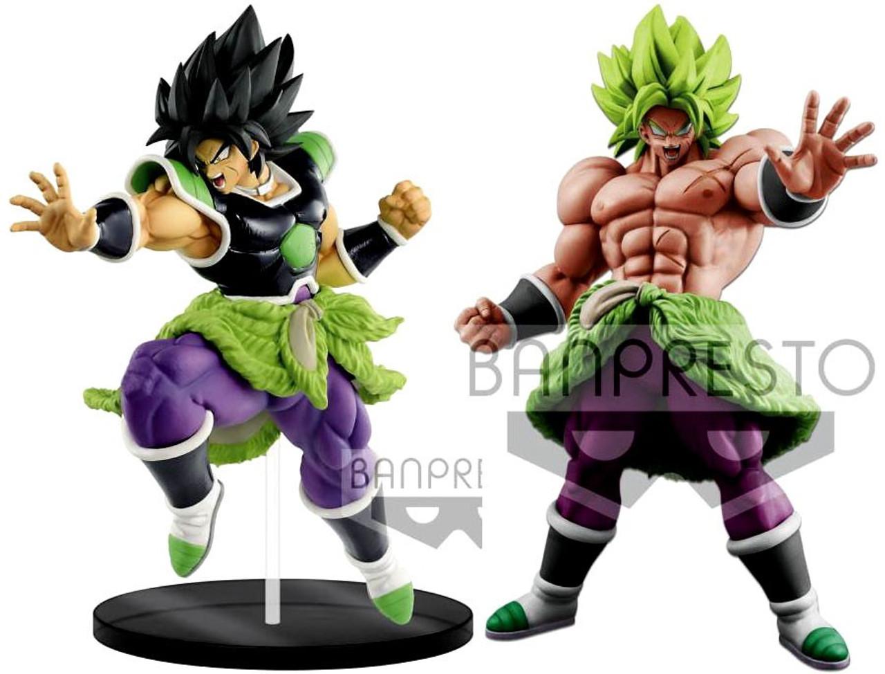 BANPRESTO DRAGON BALL SUPER GOGETA and VEGETTO Set of 2 Figure From JAPAN