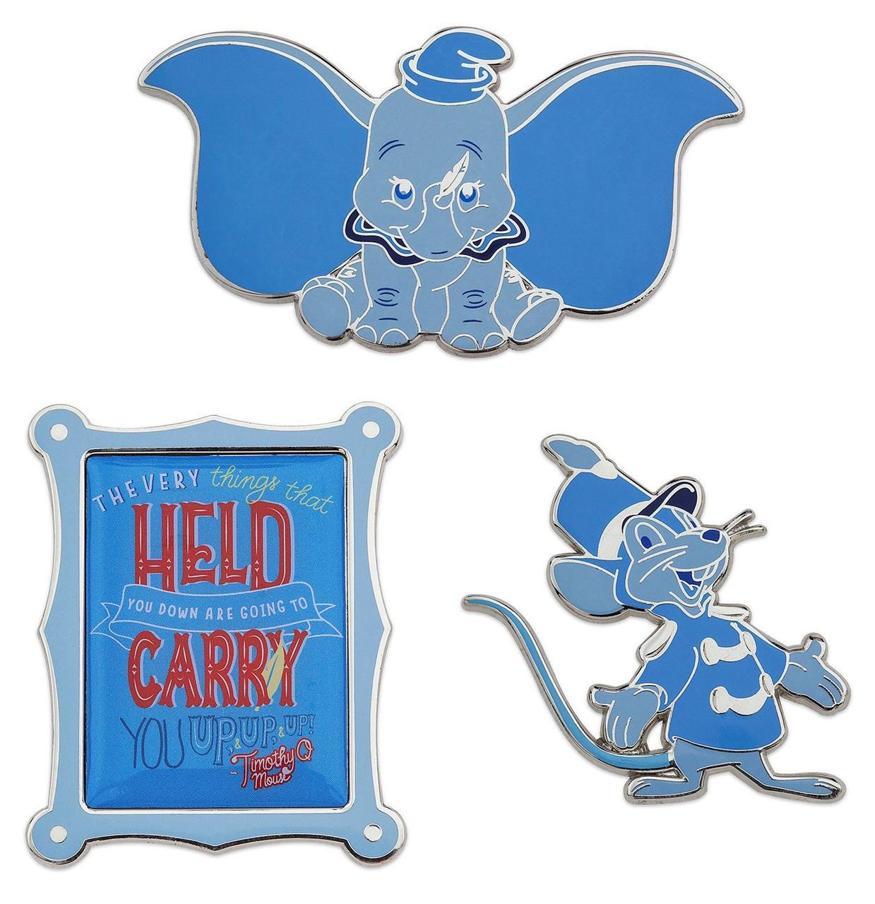 64736746ea Disney Dumbo Wisdom Dumbo Exclusive Pin Set 112 - ToyWiz