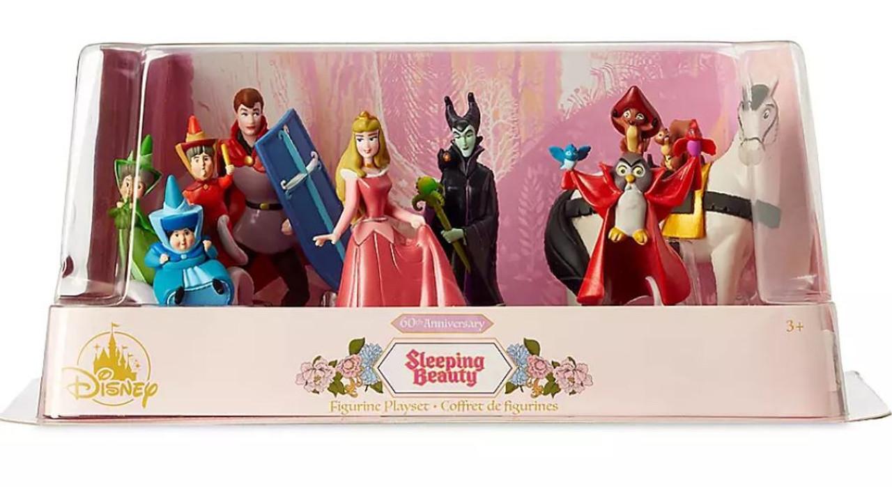 Disney 60th Anniversary Sleeping Beauty Exclusive 6-Piece PVC Figure Play  Set