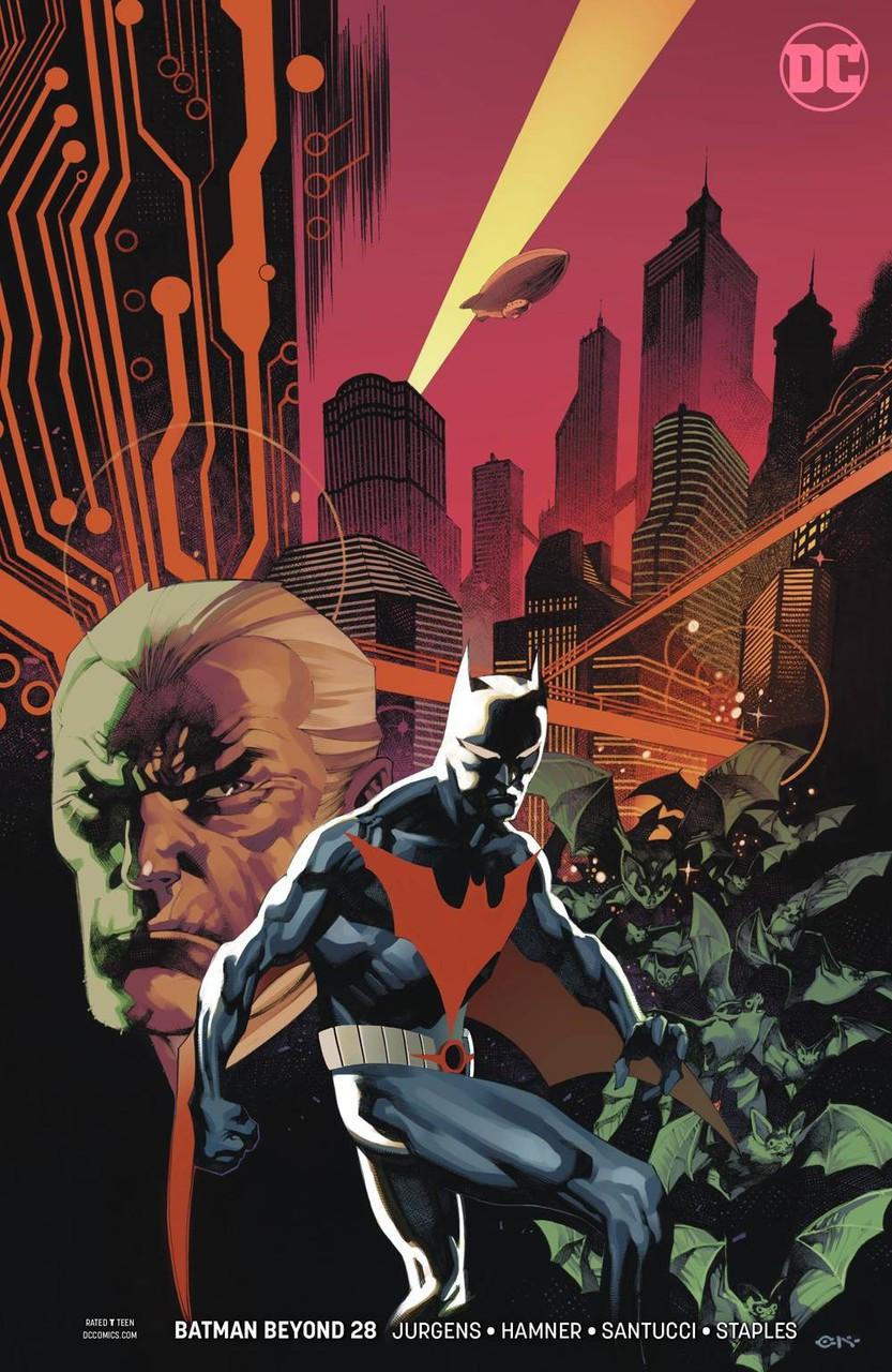 BATMAN BEYOND #30 DC 2019 STANDARD COVER STOCK IMAGE