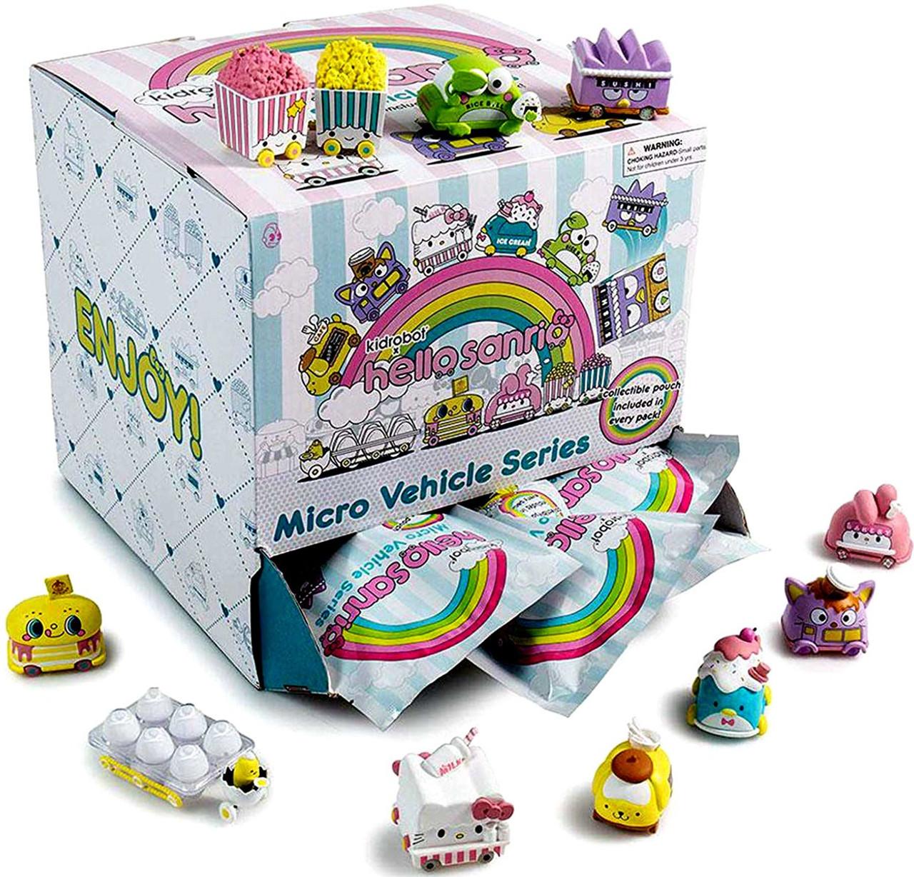 Micro Vehicle Series Hello Sanrio Mystery Box [24 Packs]