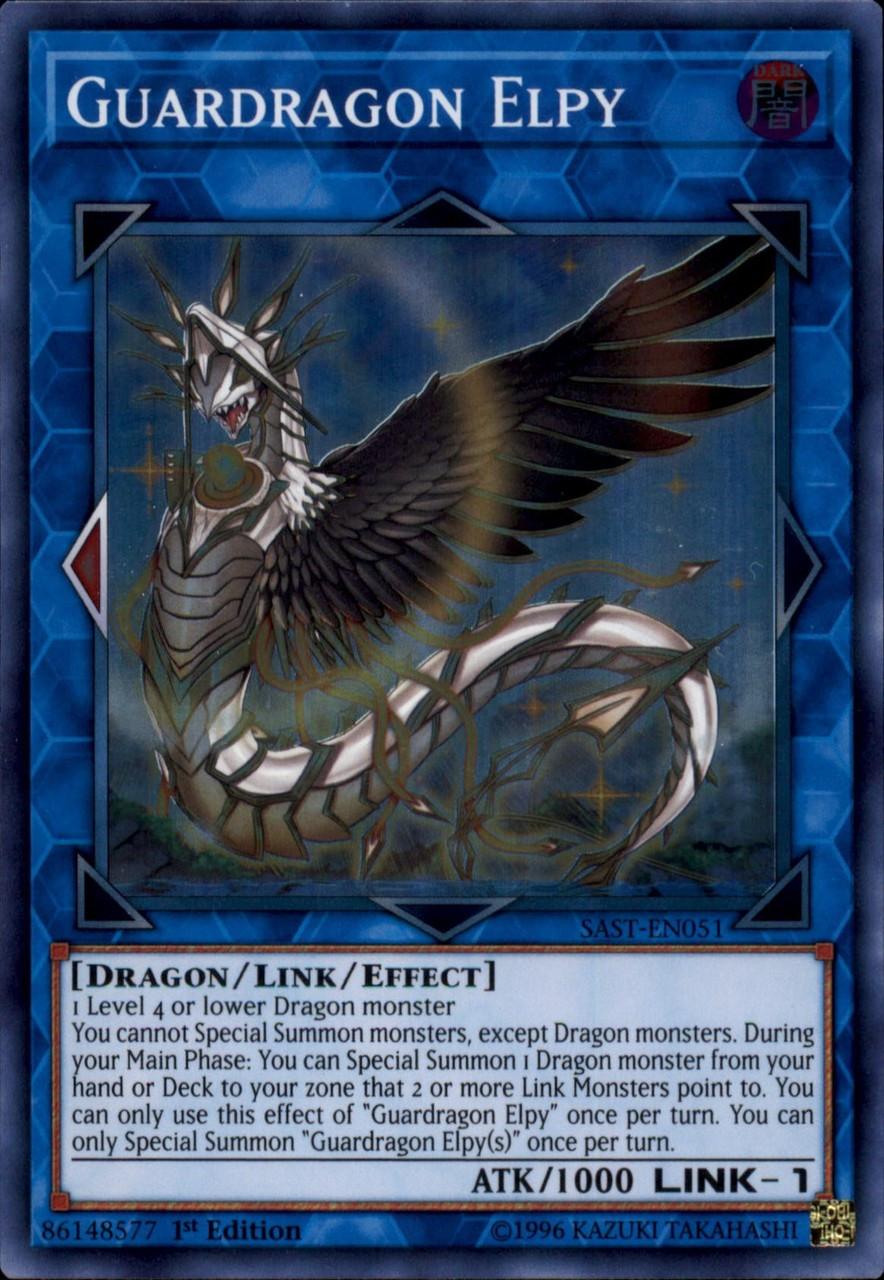 Guardragon Elpy SAST-EN051 Yu-gi-oh L/'Attaque Sau YGO SAST-EN051 Elpy Dragarde