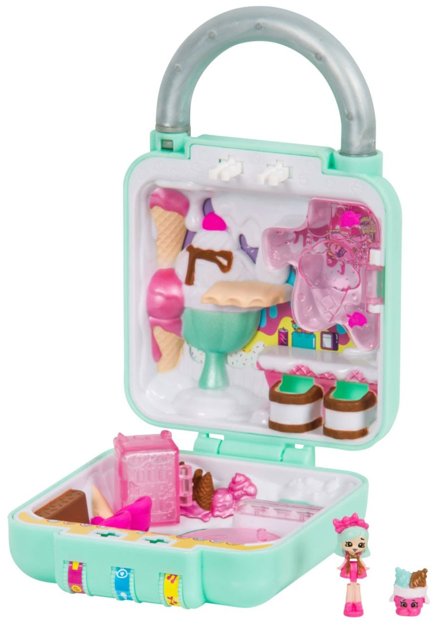 ecea35e2479 Shopkins Lil Secrets Series 1 Cute Scoops Ice Cream Mini Playset Moose Toys  - ToyWiz