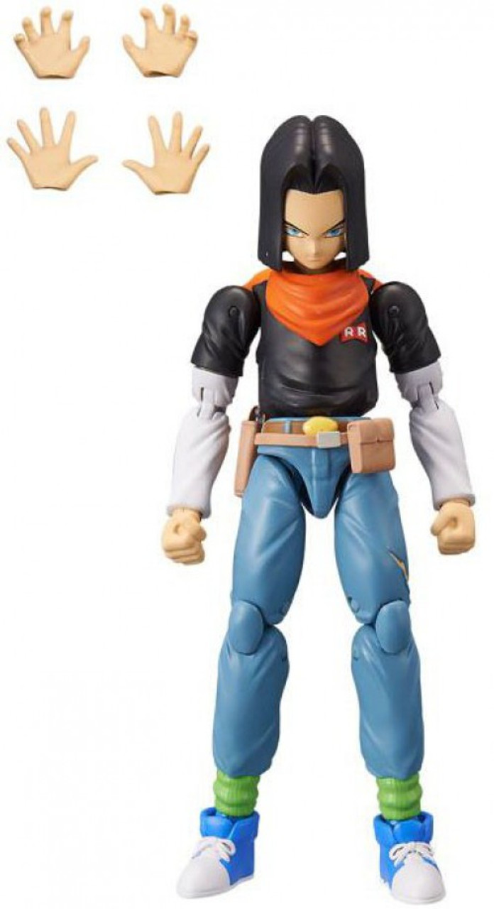 Series 10 Dragon Ball Super Dragon Stars Android 17 Figure