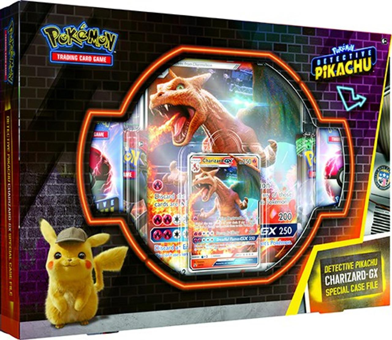 Pokemon Trading Card Game Detective Pikachu Charizard Gx Special Case File Pokemon Usa Toywiz