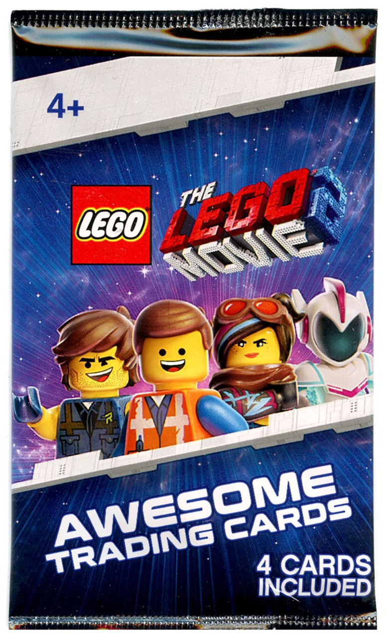 The Lego Movie 2 The Lego Movie 2 Trading Card Pack 4 Cards Toywiz