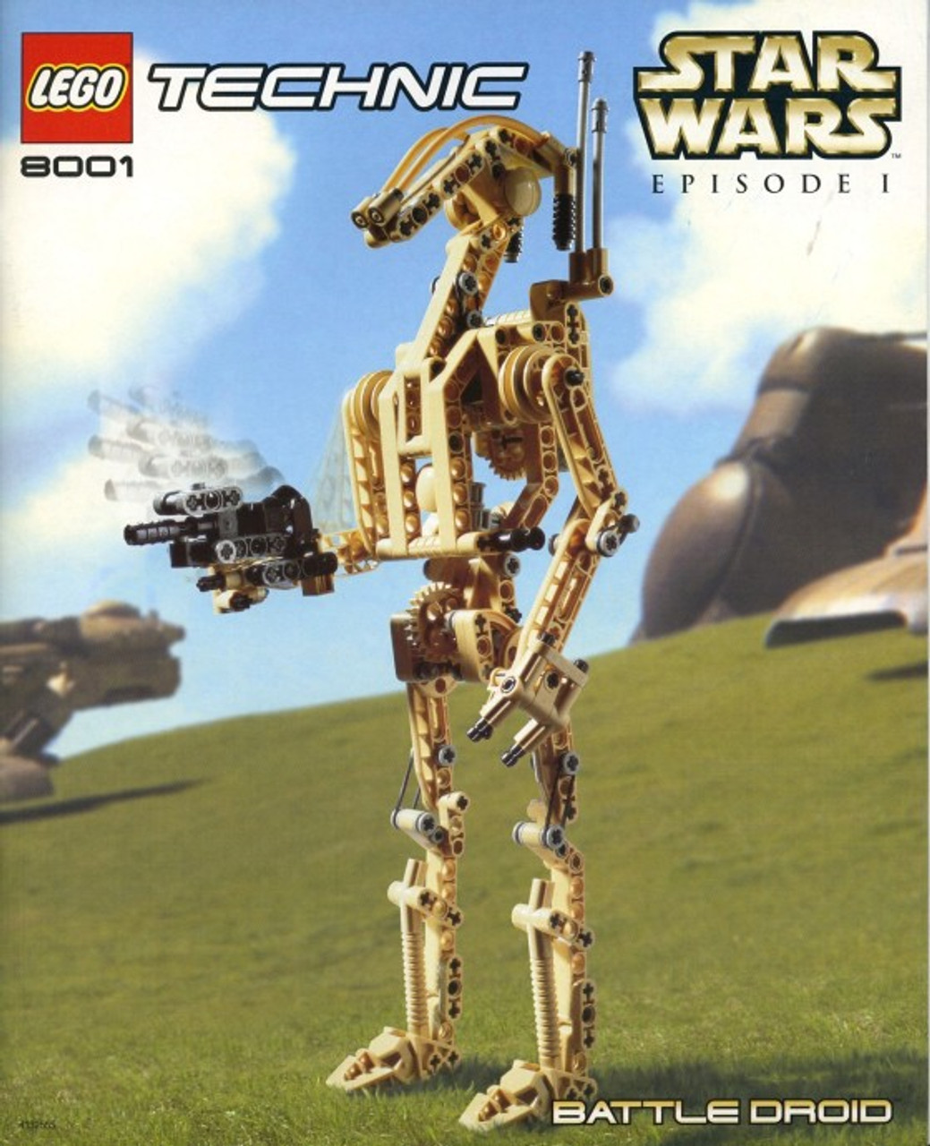 Lego Star Wars Phantom Menace Battle Droid Set 8001 Damaged Package