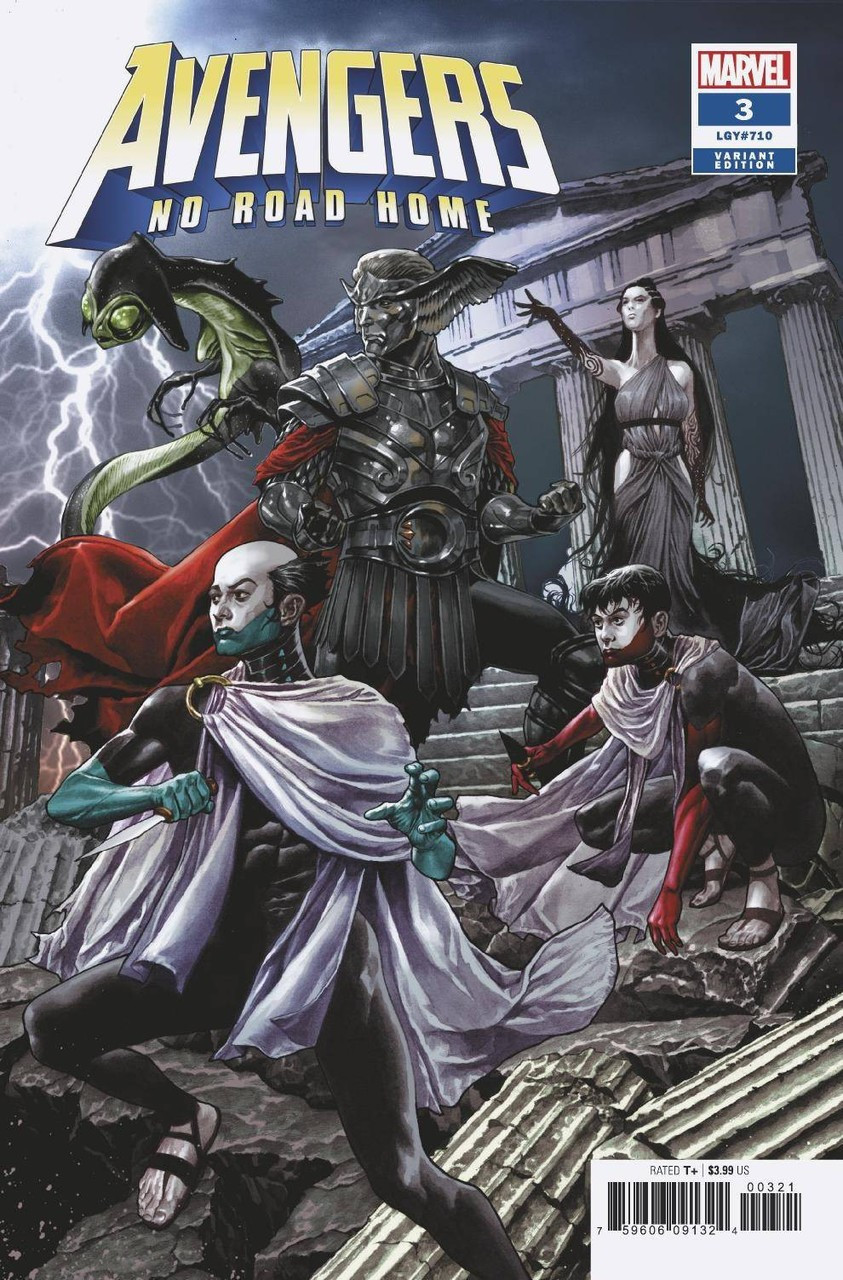 Marvel Avengers No Road Home Comic Book 3 Of 10 Suayan Connecting