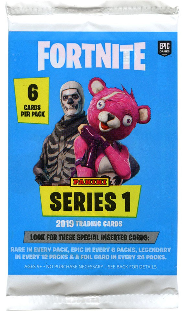 Fortnite Series 1 Trading Card Pack