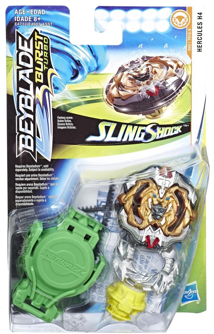 Beyblade Burst Turbo Slingshock Starter Pack Hercules H4