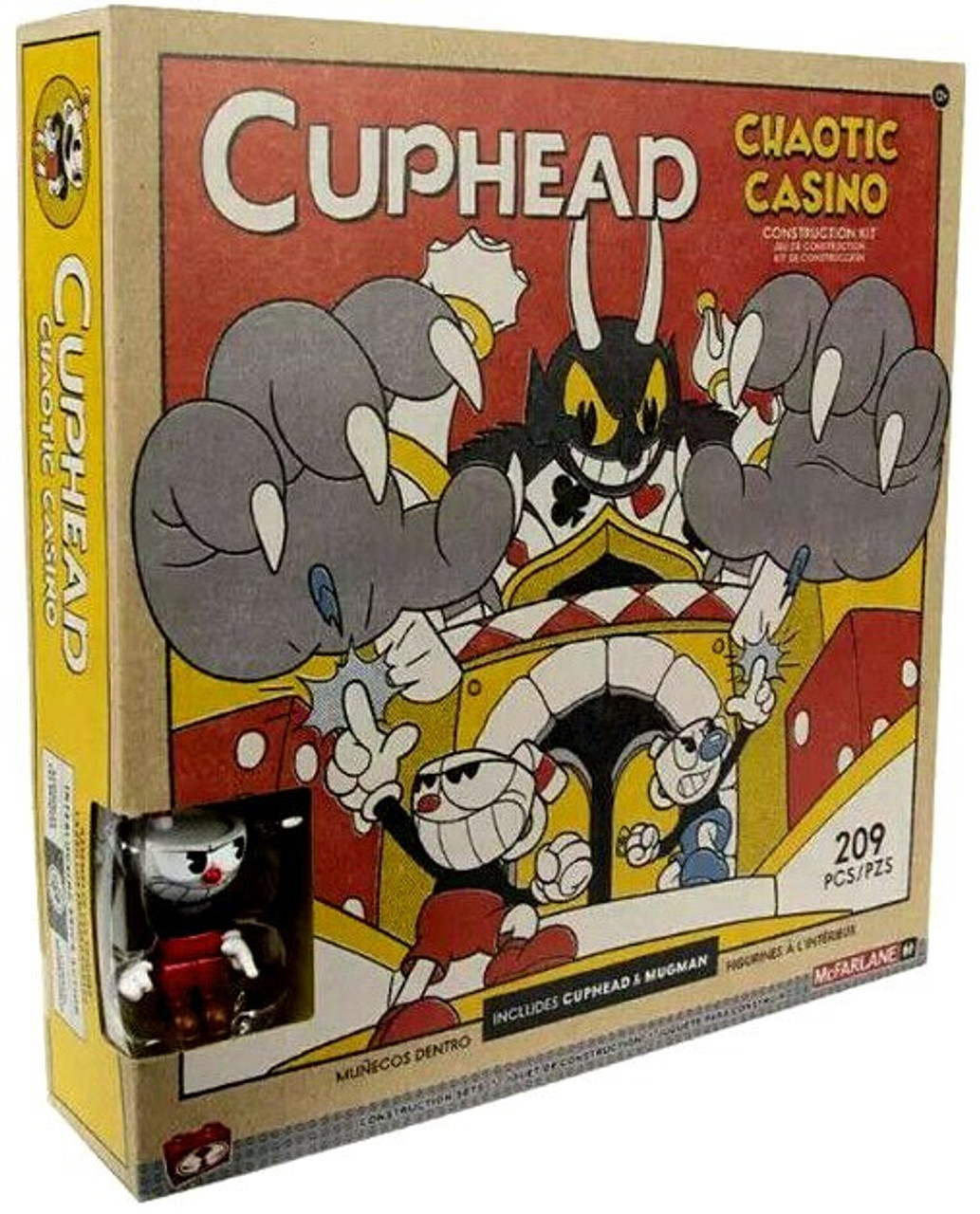39aa3077a1 McFarlane Toys Cuphead Chaotic Casino Large Construction Set (Pre-Order  ships July)
