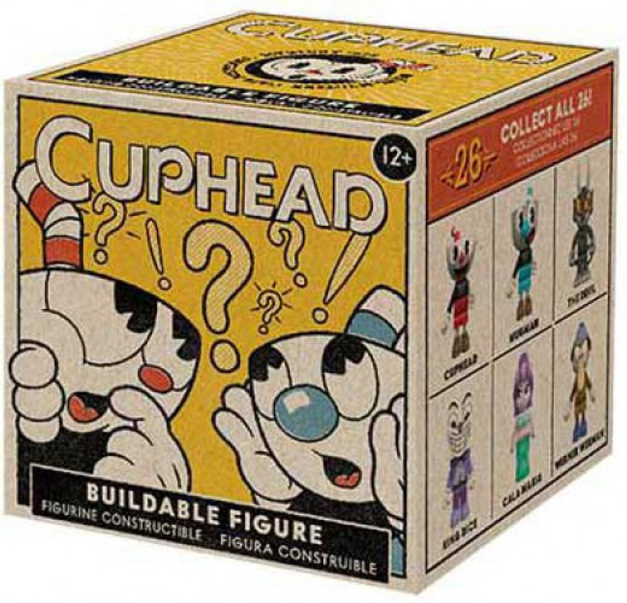 7f3e80cd96 McFarlane Toys Cuphead Series 1 Mystery Pack  1 RANDOM Figure!  (Pre-Order  ships July)