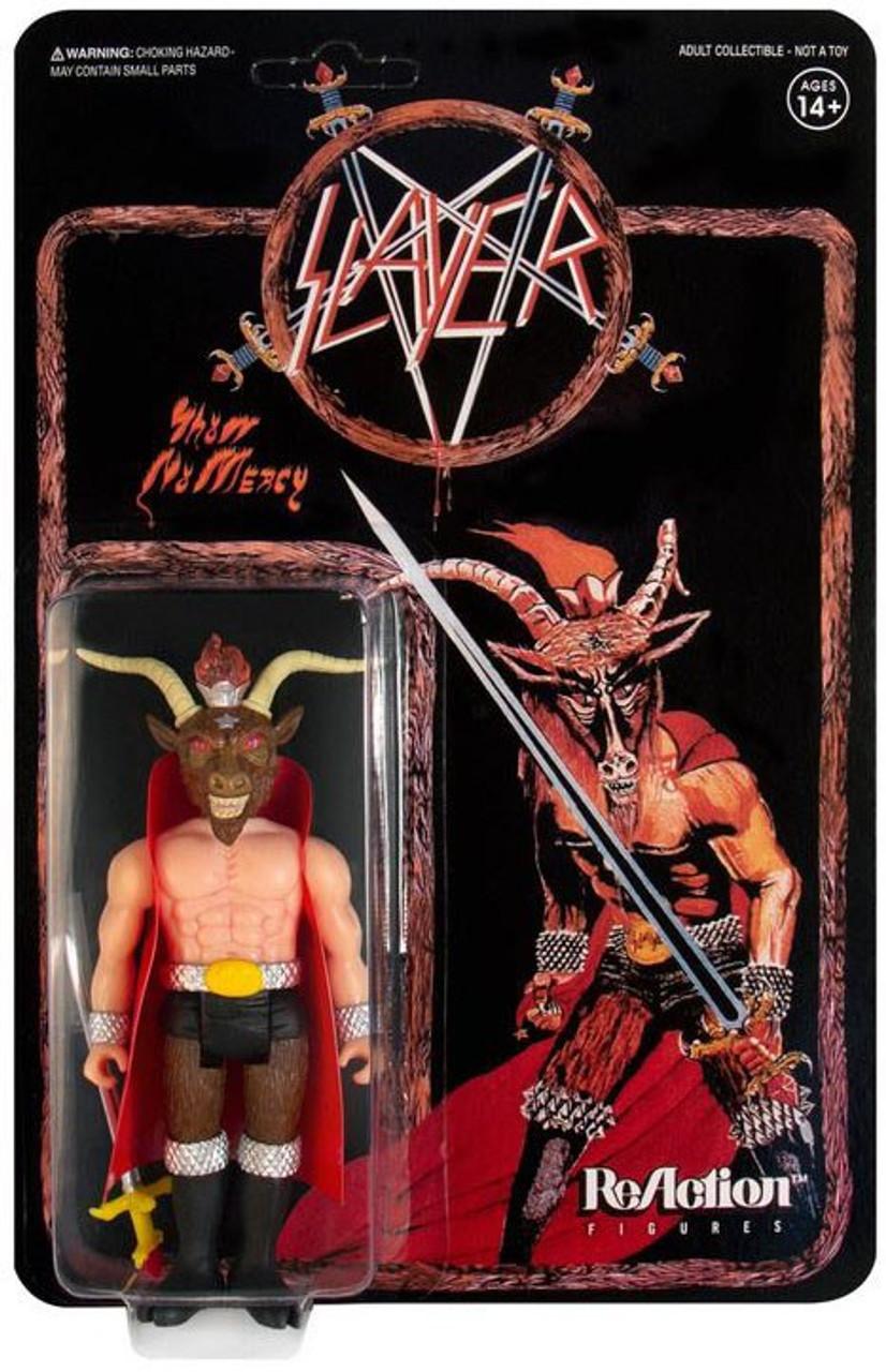 Super 7 Heavy Metal Slayer Reaction Figure Glow Minotaure Action