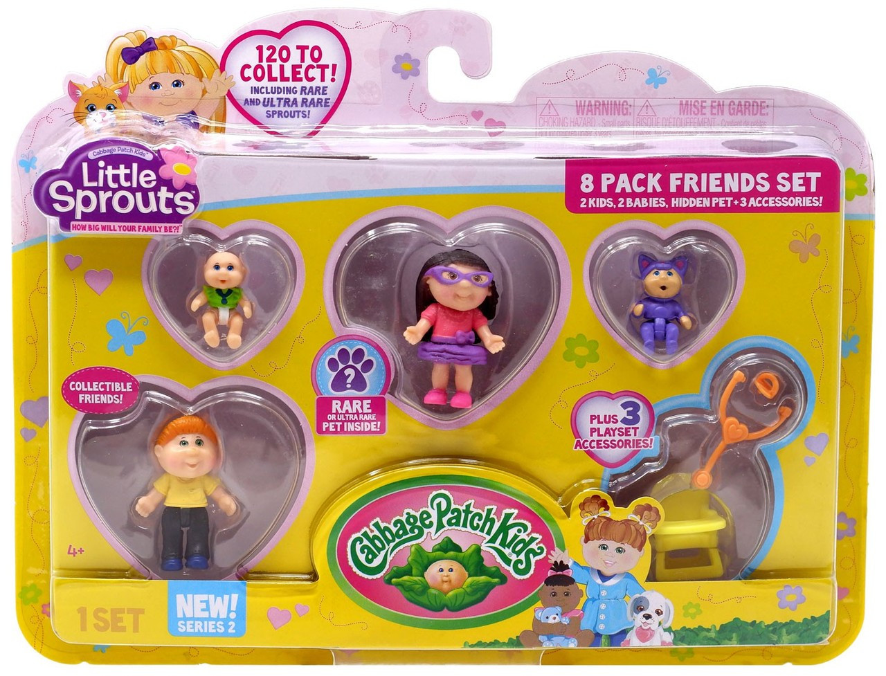 Cabbage Patch Kids Little Sprouts Series 2 Rachel Kylie Mini Figure 8-Pack  Wicked Cool Toys - ToyWiz
