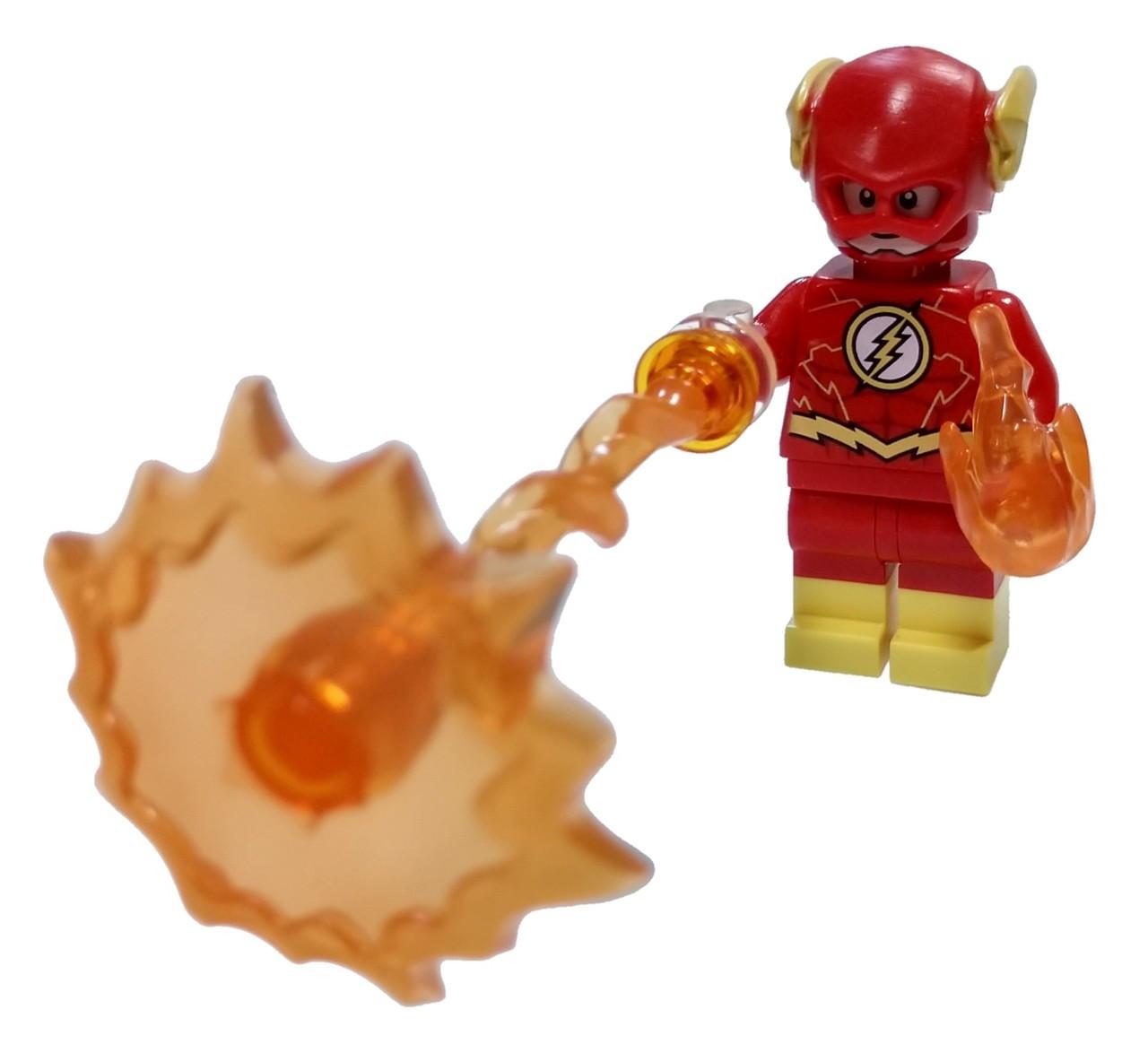 Lego Dc Super Heroes Batman Ii The Flash Minifigure Yellow Boots And