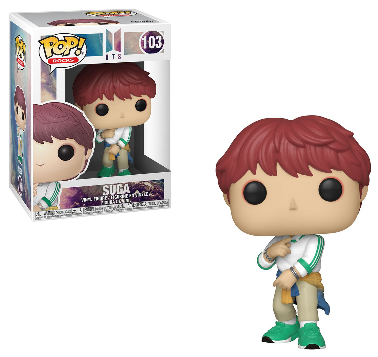 Figura in vinile #103 BTS-Suga Funko Pop POP Rocks