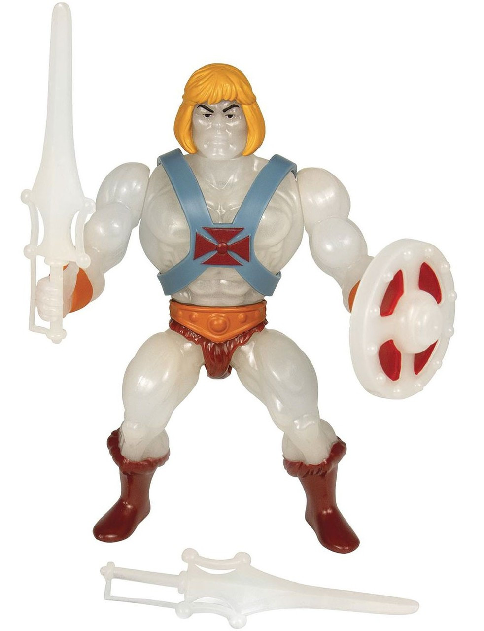 MASTERS OF THE UNIVERSE REACTION SET OF 6 WAVE 4 ACTION FIGURES IN STOCK