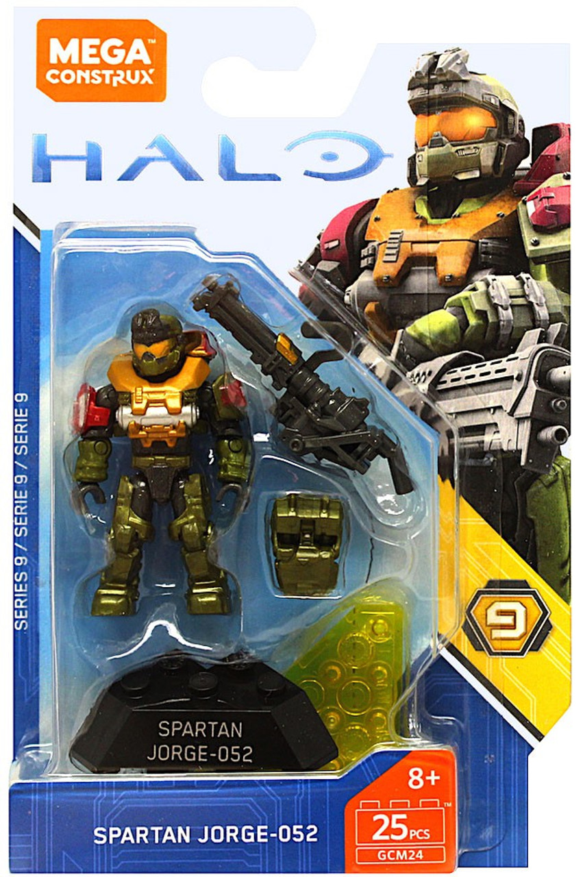 Halo Mega Construx Heroes Series 9 Spartan Jorge Mini Figure