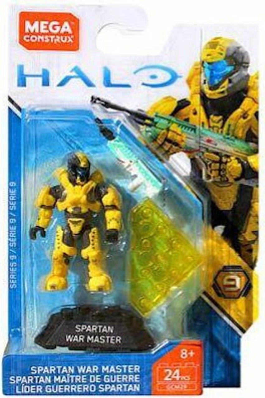 Halo Mega Construx Heroes Series 9 Spartan War Master Mini Figure [Scipio]