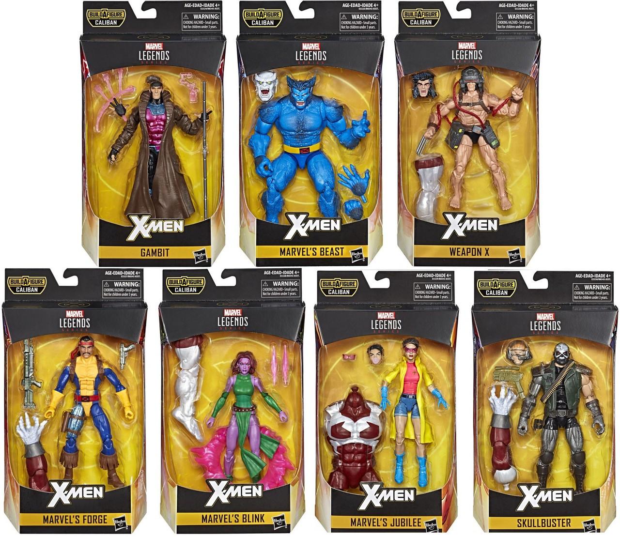 Marvel Hasbro Legends X-Men Series 6/' Gambit Action Figure