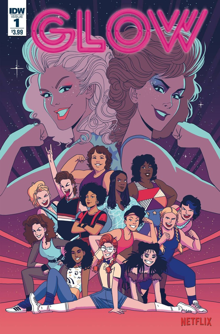 Image result for glow #1 comic