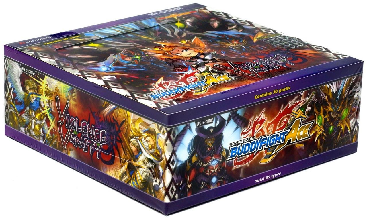 Future Card Buddyfight Ranma /& Vanity Deck Box Bushiroad