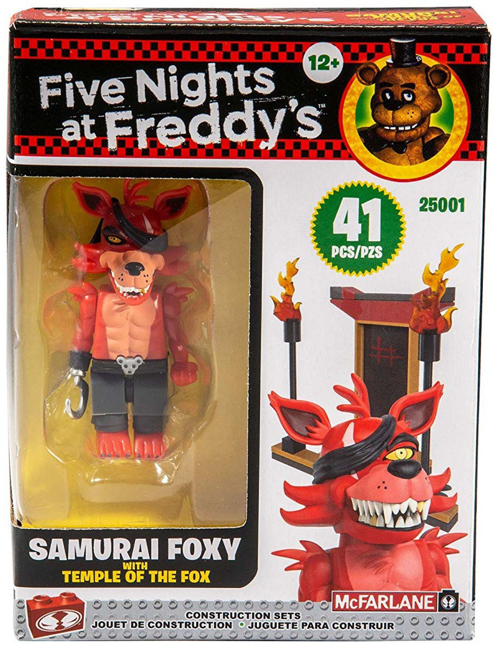 McFarlane Toys Five Nights at Freddy's Temple of the Fox Build Set  (Pre-Order ships September)