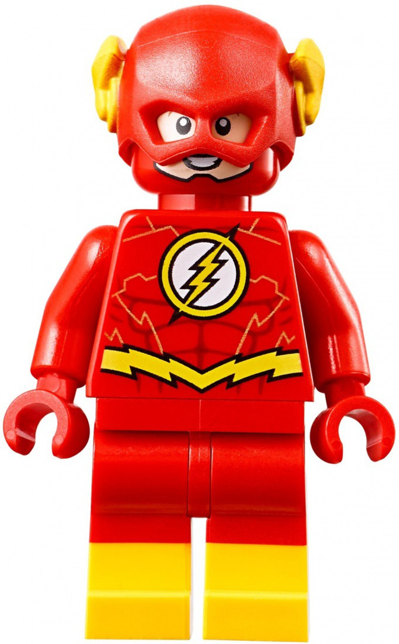 Lego Dc Universe Super Heroes The Flash Minifigure Yellow Boots