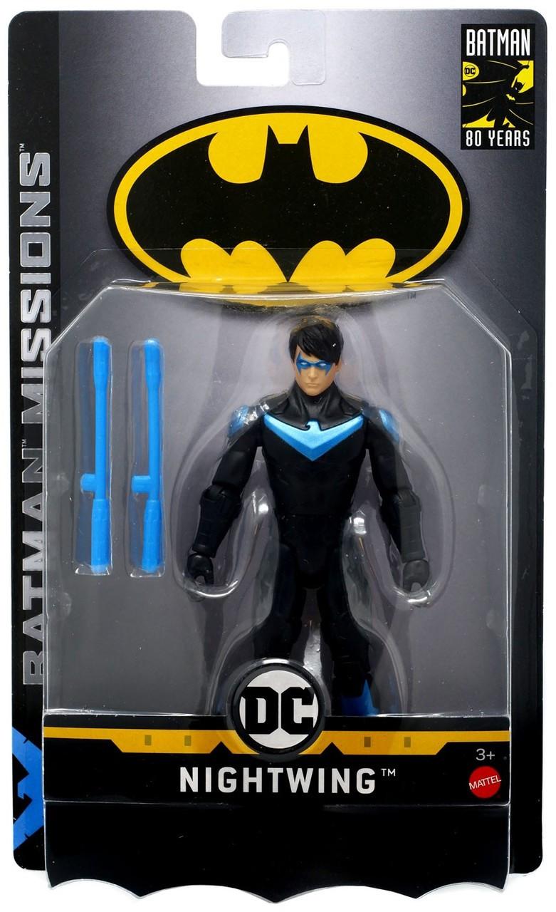 Dc Comics Batman Missions Nightwing 6 Action Figure Mattel Toys Toywiz