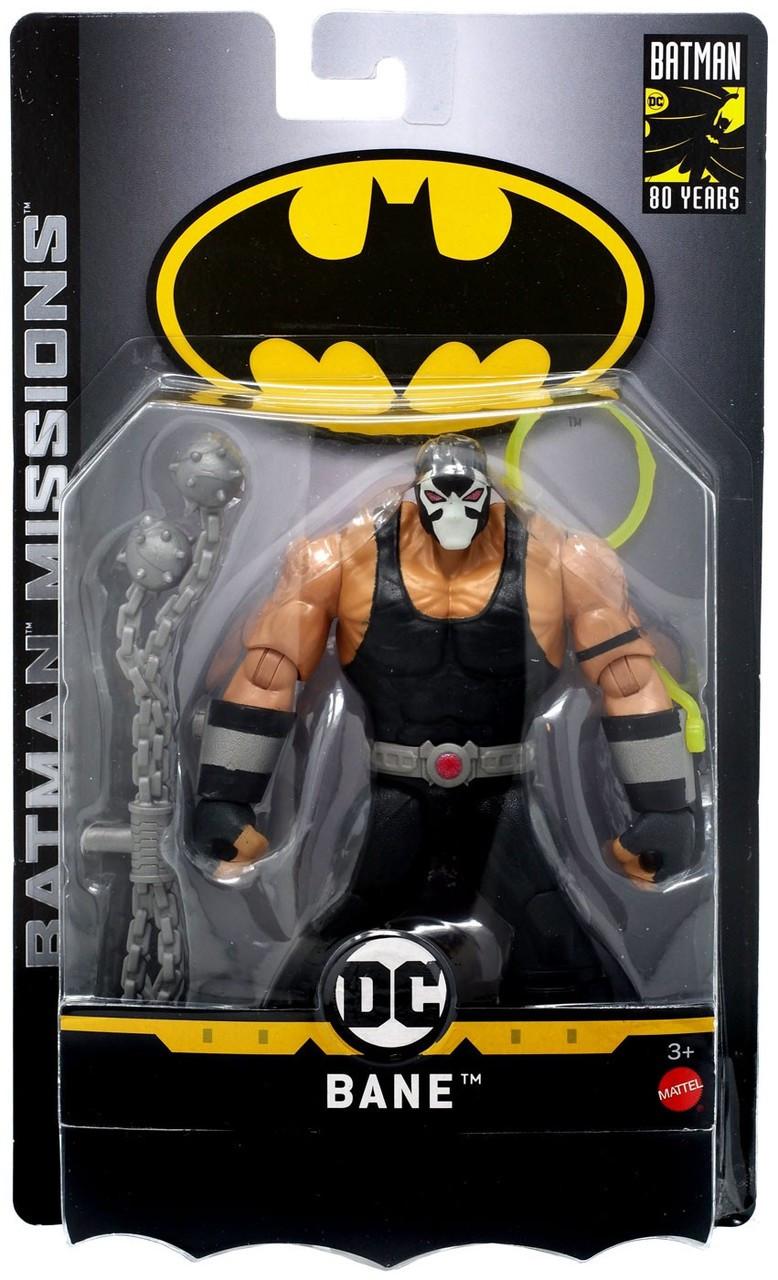DC Comics Batman Missions Bane Action Figure