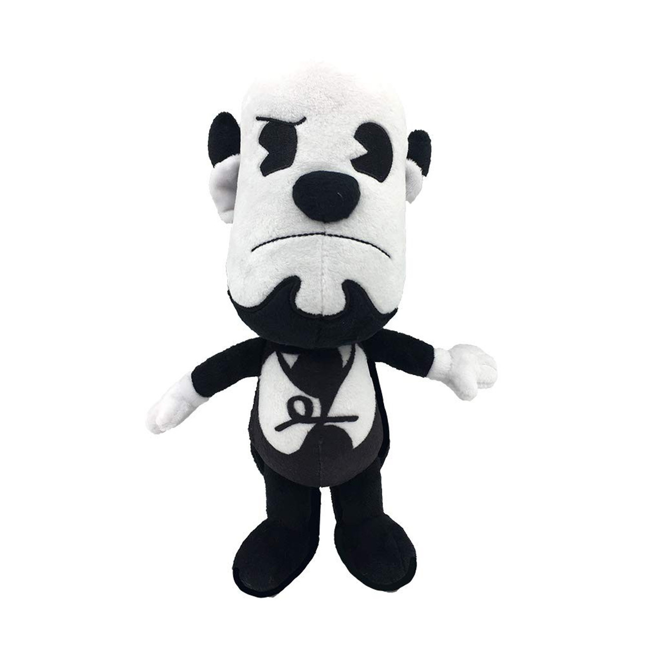 BENDY AND THE INK MACHINE DEAD BORIS PLUSH TOY YELLOW//GOLD WAVE 3 NEW