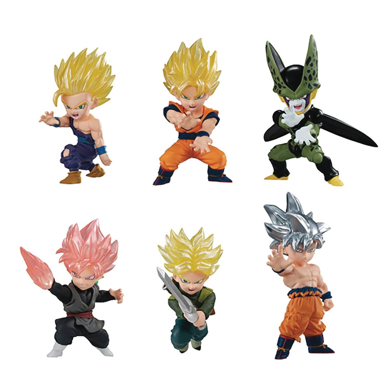 Dragon Ball Z Figures Mini Bandai Japan Import Anime Choose One