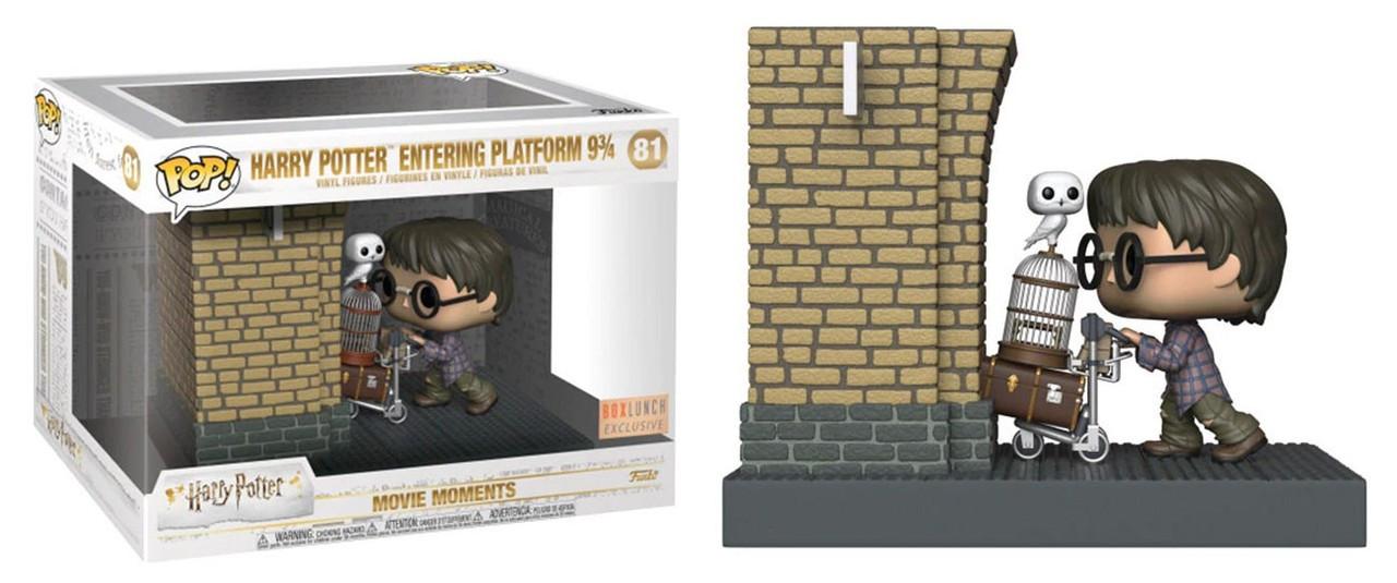 2036932406f Funko POP! Movies Harry Potter Entering Platform 9 3 4 Exclusive Vinyl  Figure