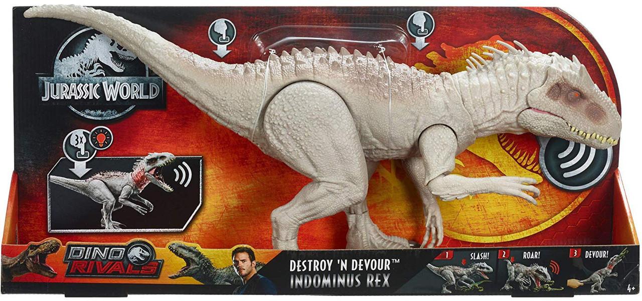Jurassic World Indominus Rex Mattel Nuovo!