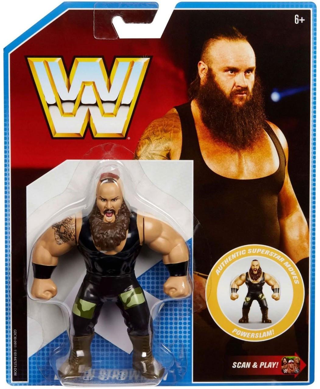 WWE Mattel Manic Mayhem Playset Wrestling Figure fan central Braun Strowman Ring