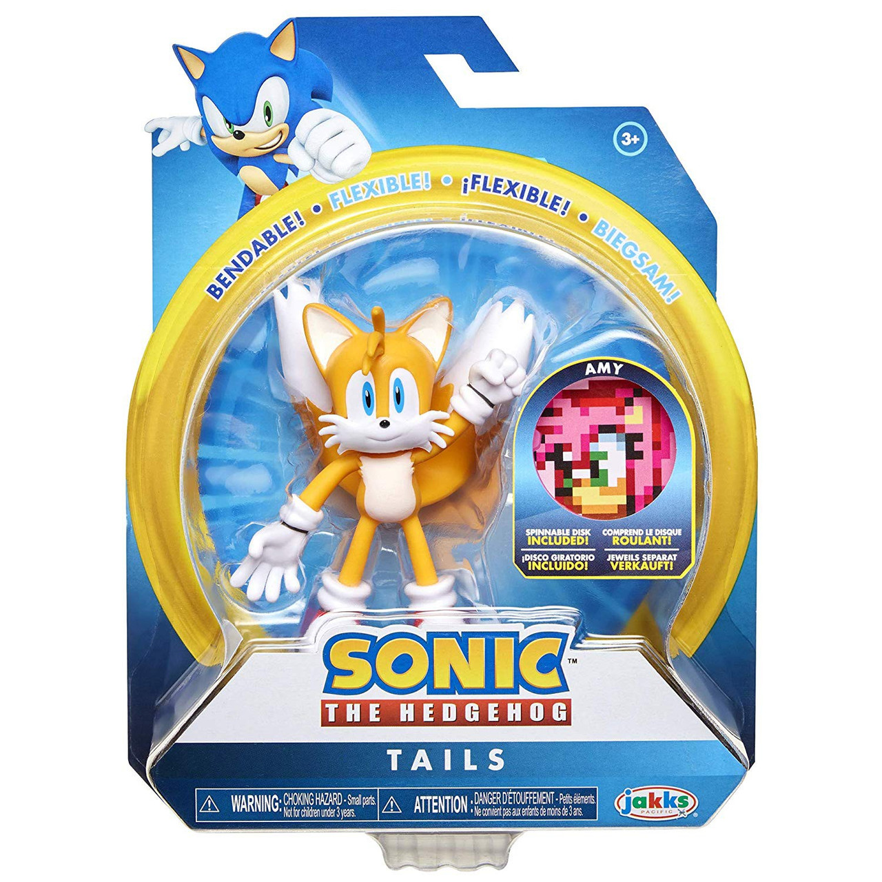Sonic The Hedgehog 2020 Series 1 Tails 4 Action Figure Jakks Pacific Toywiz