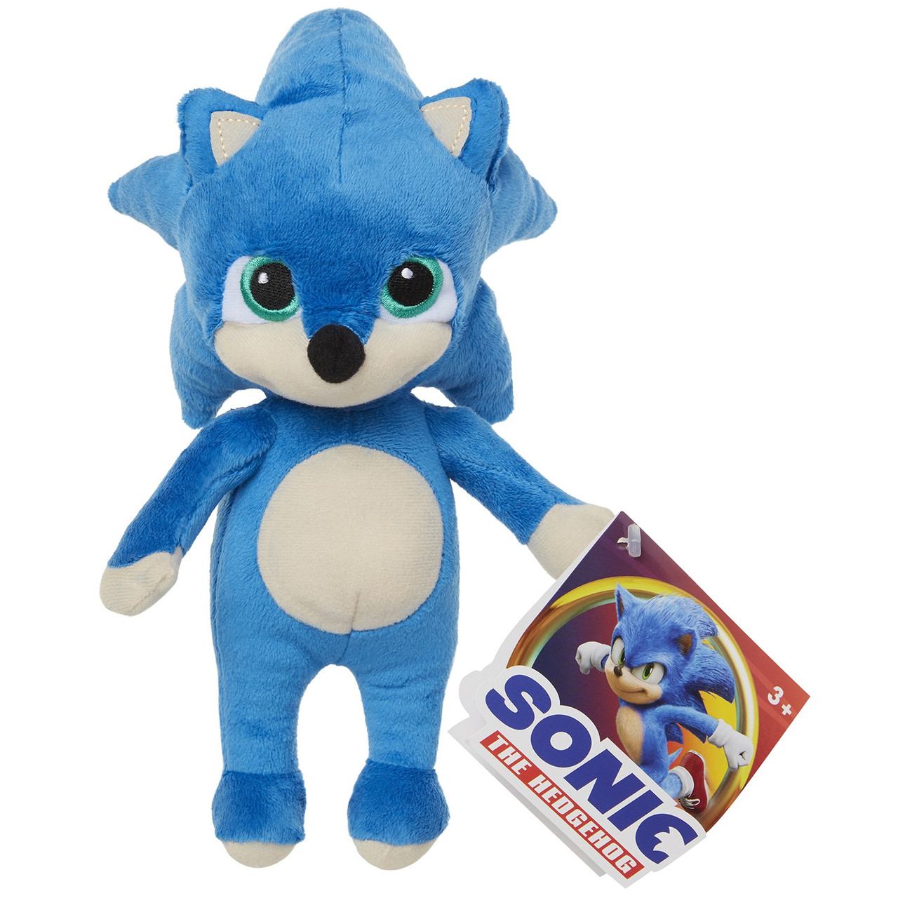 Sonic The Hedgehog Movie Baby Sonic 8 5 Plush Jakks Pacific Toywiz