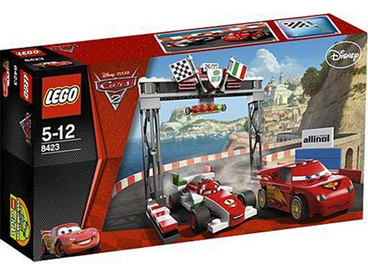 0c467ba7d8b2 LEGO Disney / Pixar Cars Cars 2 World Grand Prix Racing Rivalry Exclusive  Set #8423 [Damaged Package]