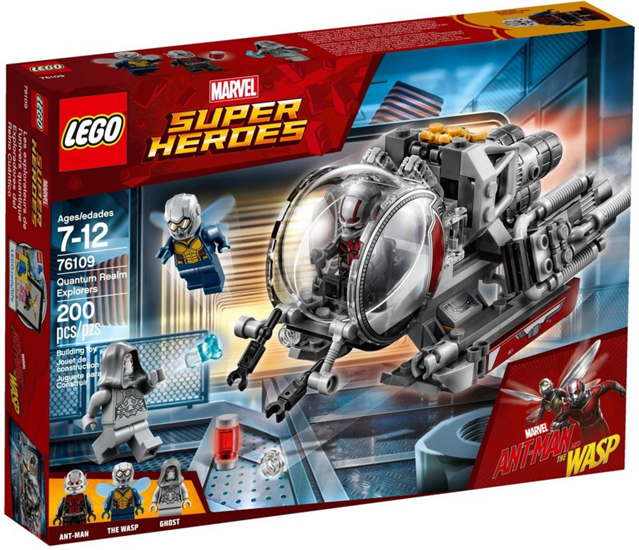 LEGO Marvel Super Heroes Ant-Man The Wasp Quantum Realm ...