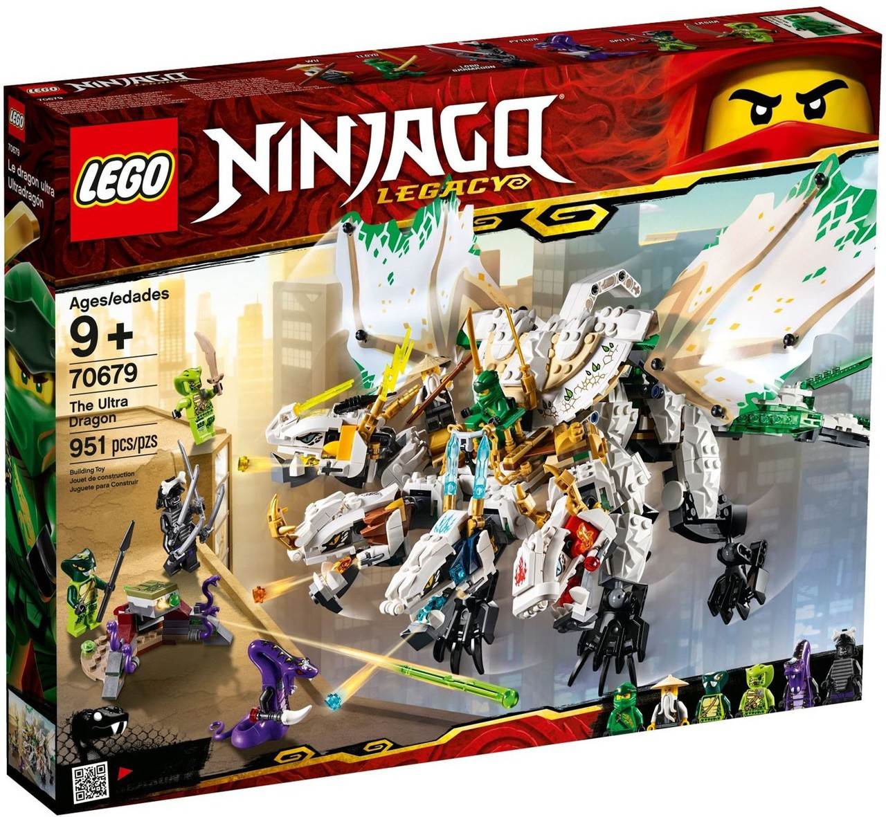 Legacy The Dragon Set70679 Lego Ninjago Ultra 3LAR54j